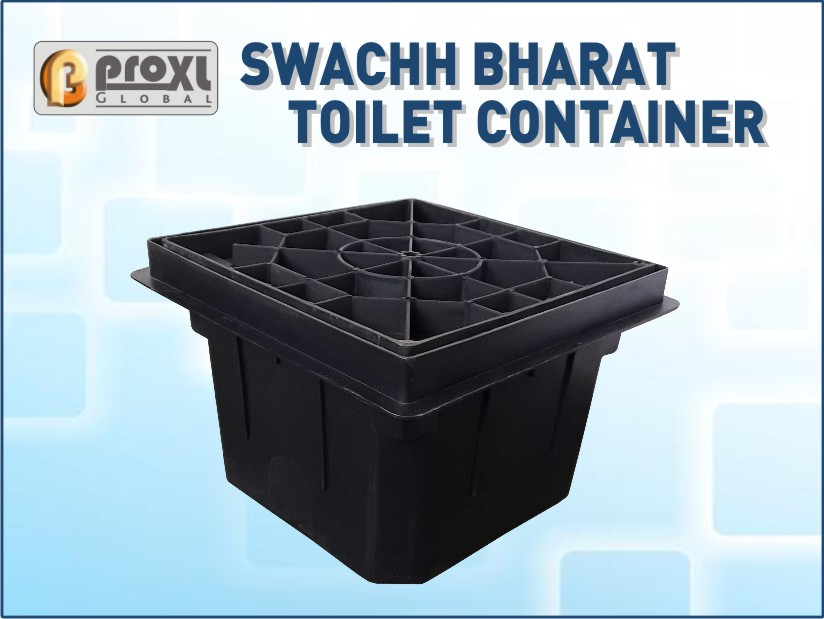 Swachh Bharat Toilet Container