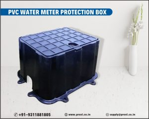 PVC water meter protection box